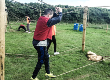 Assault Course – Redhills Adventure Kildare Ireland